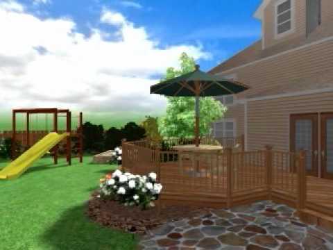 видео: Ландшафтный дизайн дачного участка. landscaping