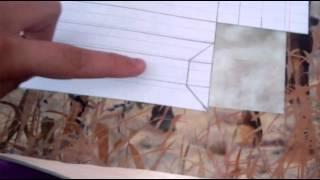 как сделать бумажную рамку для рисунка