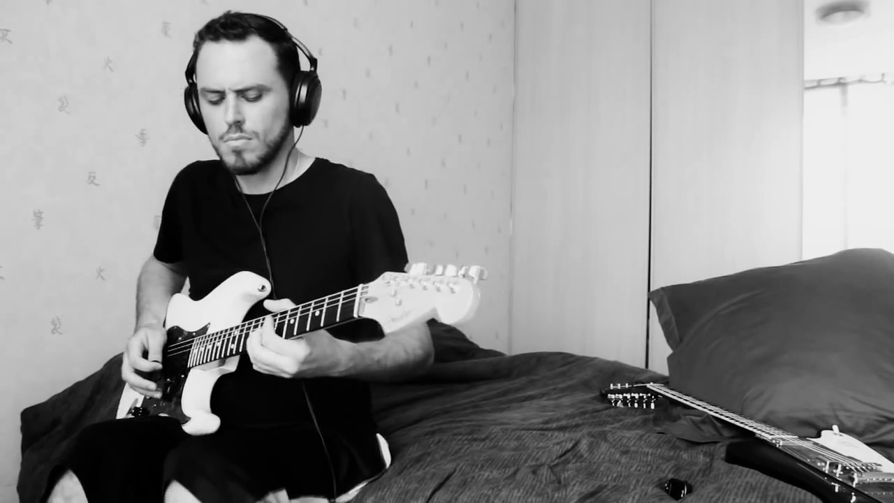 Electric Guitar Cover CHANDELIER - SIA by Jerome Graille. - YouTube