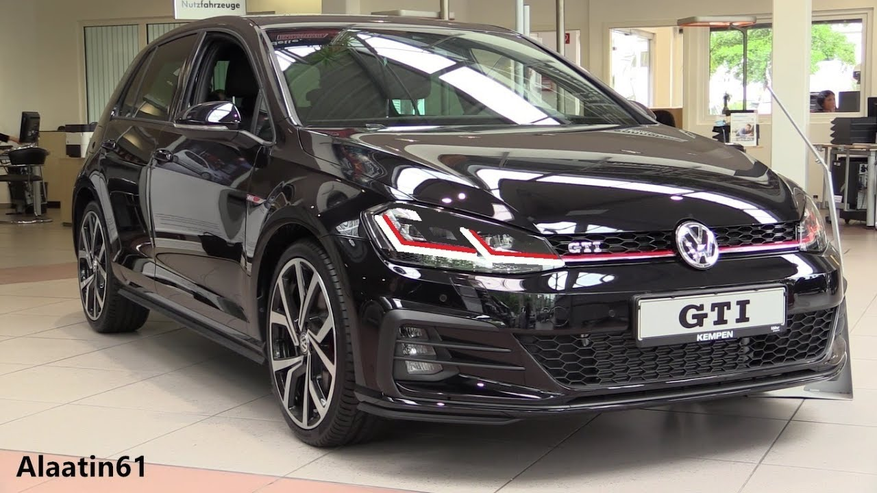volkswagen golf gti 2018 new facelift in depth review. Black Bedroom Furniture Sets. Home Design Ideas