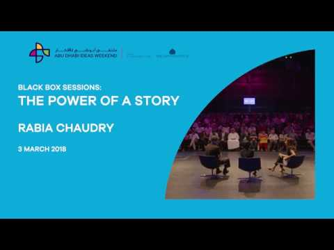 Rabia Chaudry - The power of a story