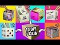 10 MANUALIDADES CON CAJAS DE CARTON ¿CUANTAS DE ESTAS 10 MANUALIDADES TE ATREVES A HACER? - CATWALK