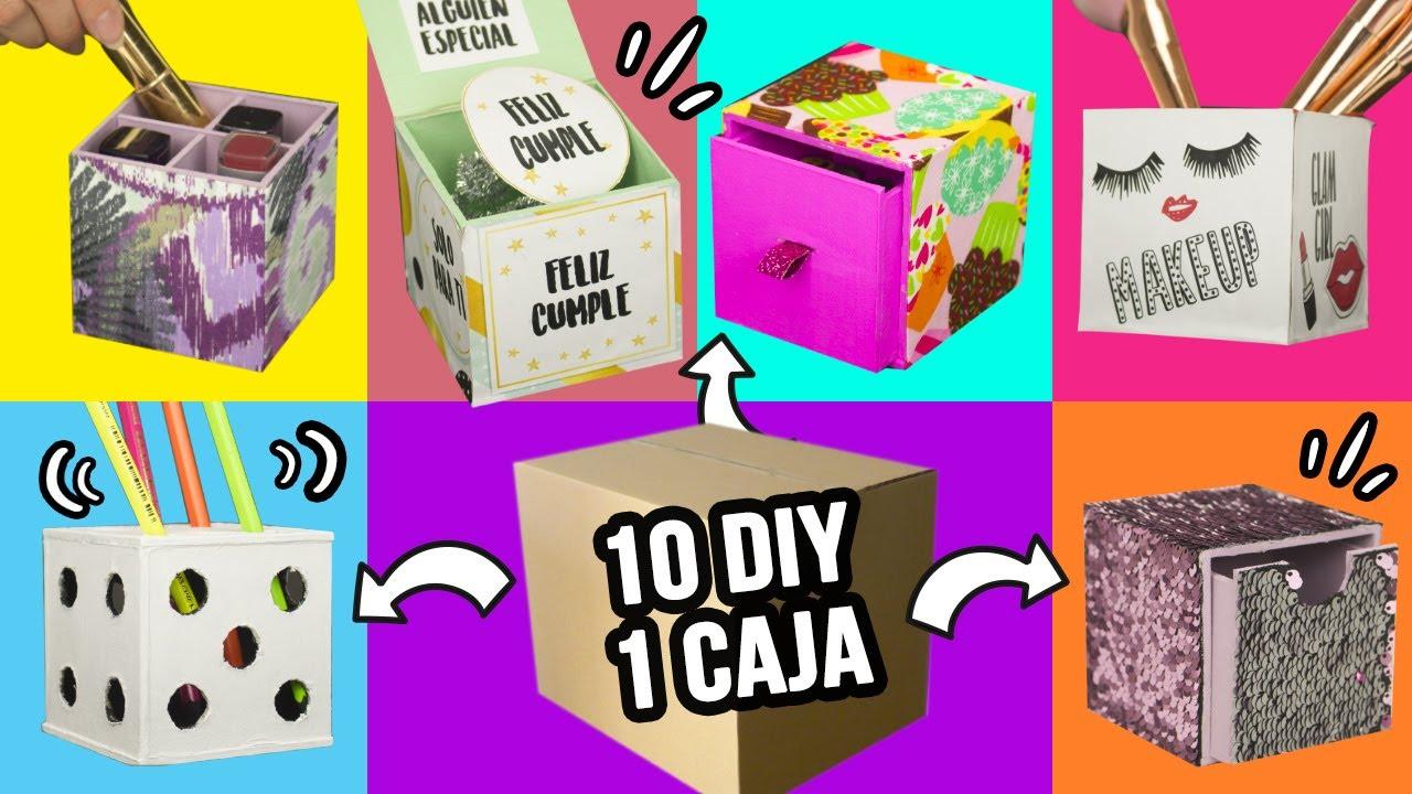 10 Manualidades Con Cajas De Carton Cuantas De Estas 10 - Que-manualidades-puedo-hacer