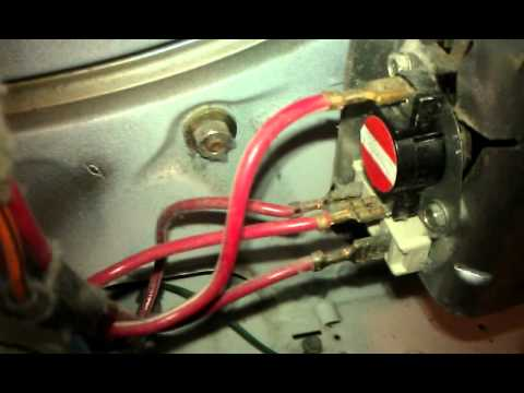 Whirlpool Dryer Thermal Fuse Blown With Wire Burnt Youtube