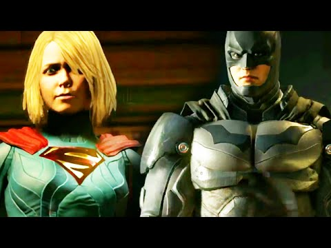 Injustice 2 new gameplay reveal batman superman super girl injustice 2 new gameplay reveal batman superman super girl injustice gods among us 2 voltagebd Gallery
