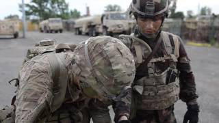 4th Battalion, 10th Cavalry Regiment Conduct First Ever Spur Ride in Tata, Hungary B-roll