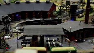 Grand Maket - Строительство моста через железнодорожные пути.(Выставка Гранд Макет с Санкт-Петербурге., 2016-02-09T09:08:49.000Z)