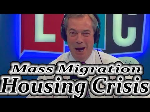 Nigel Farage about Mass Migration & Housing Crisis
