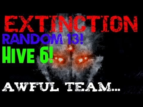 "EXTINCTION ""Point Of Contact"" Awful team! w/ Randoms #13 (CoD Ghosts)"