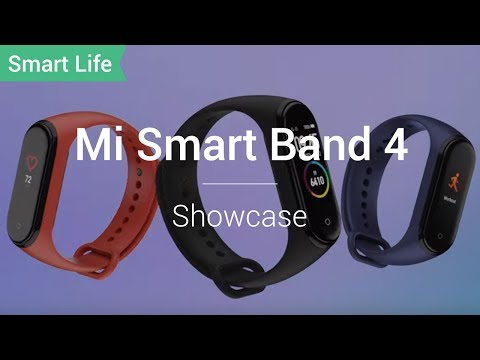 Mi Smart Band 4: Step Up, Live More