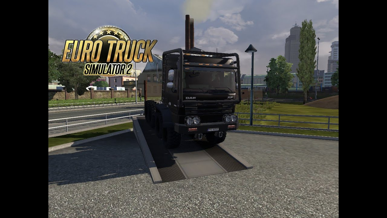 euro truck simulator 2 mod daf xf off road youtube. Black Bedroom Furniture Sets. Home Design Ideas