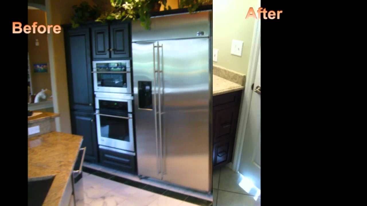 The Best Before After Custom Cabinet Refacing Of Naples Kitchen Cabinet In Naples Fl