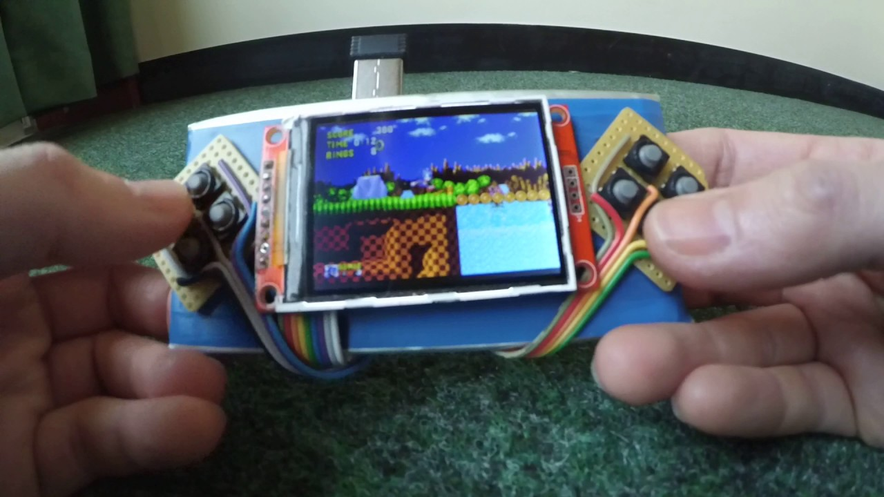 Fast refresh rates up to 60fps with an SPI display (ILI9341