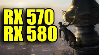 Assassins Creed Syndicate RX 570 4GB OC & RX 580 8GB OC | 1080p | FRAME-RATE TEST