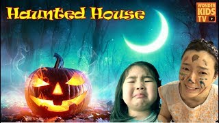 유령의 집은 무서워. 유령의 집 비밀을 밝혀라. 할로윈 이야기 haunted house l ghost house l halloween
