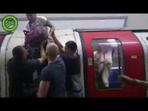 Panic in the London Metro Station