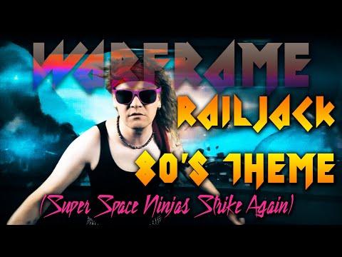 Warframe Railjack 80's Theme (Super Space Ninjas Strike Again)