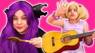 After School Routine - Slime Making With Malice & More! - Princesses In Real Life | Kiddyzuzaa
