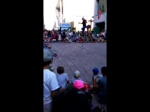 Popeye at Ottawa's street festival