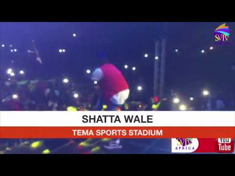 Shatta Wale live @Tema Stadium 2018 - Do Not Re Upload (full video)