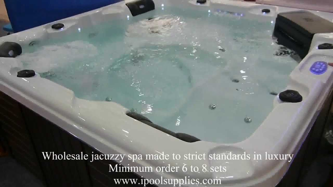 Wholesale hot tub spa jacuzzi. Direct exporter. - YouTube