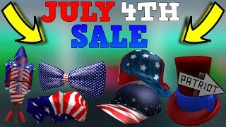 Roblox 4th of JULY SALE 2019!! (INFO)