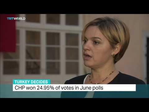 TRT World - Interview with CHP candidate about upcoming Turkey snap elections