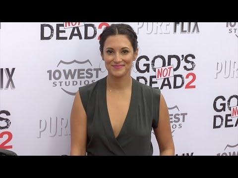 "Angelique Cabral ""God's Not Dead 2"" Premiere Red Carpet"