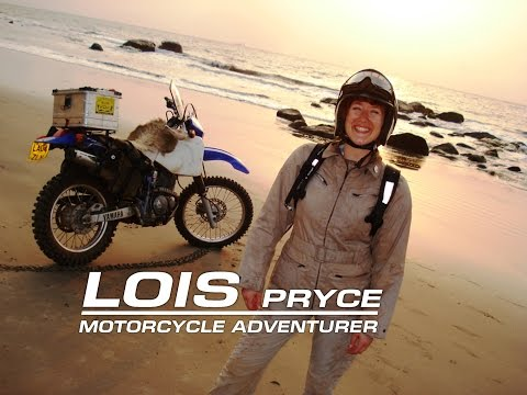 Adventure Motorcyclist Lois Pryce - Interview