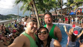 Biggest Party In Central America! - Sunday Funday, San Juan Del Sur, Nicaragua - 4K - Ep. 2