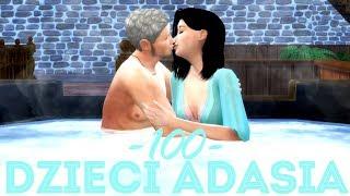The Sims 4 Pl : Wyzwanie 100 dzieci Adama #132 - Urlop z Elizą