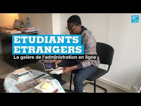 Etudiants étrangers : la galère de l'administration en ligne