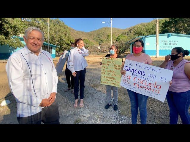 Diálogo con tesoreras de La Escuela es Nuestra en Sinaloa