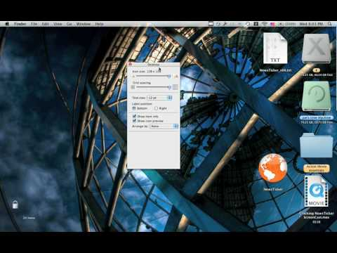 how to make text larger mac
