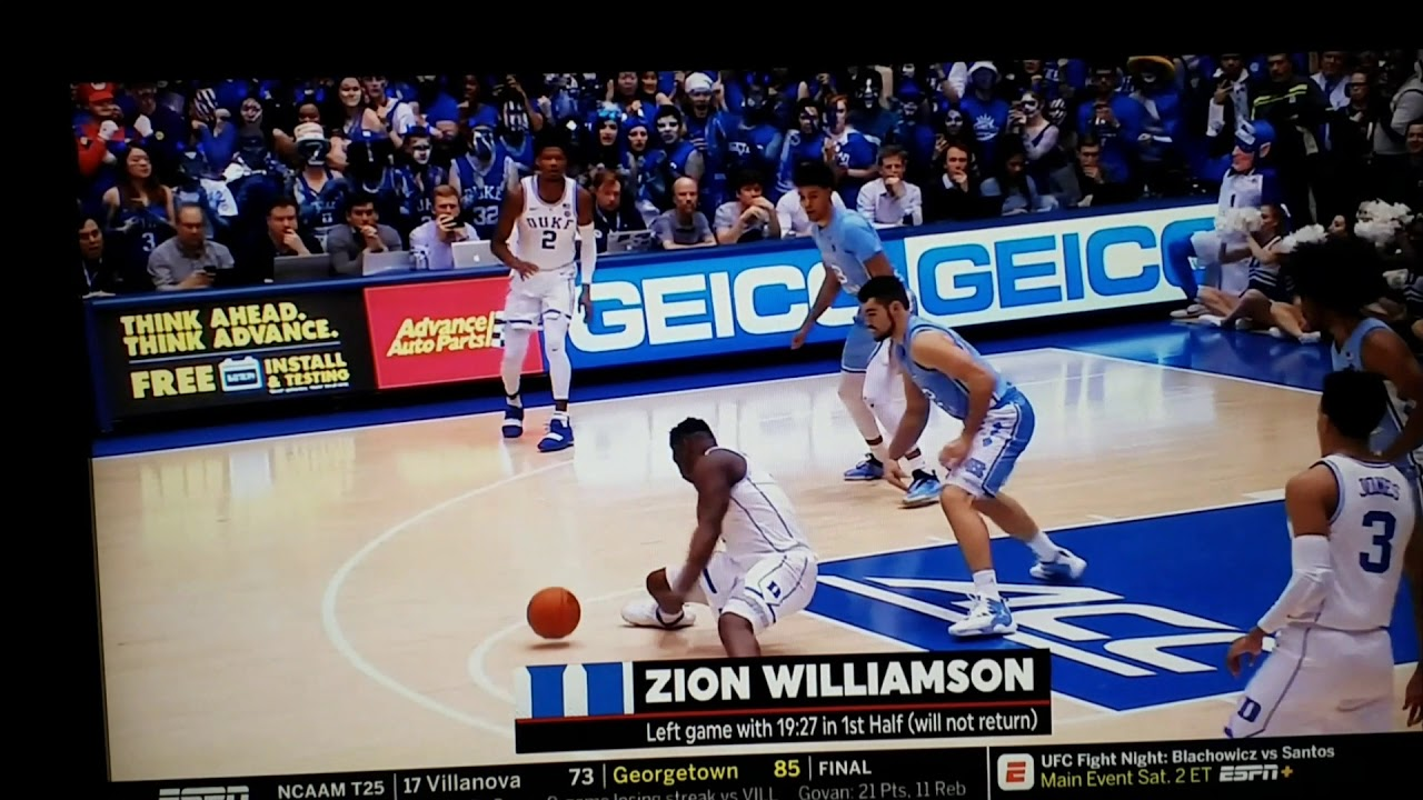 f7ccec870b0 ESPN Sensors truth about Zion Williamson nike blowout - YouTube