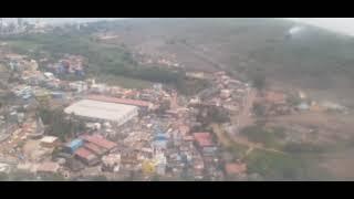 landing view at Goa Airport