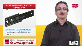 Скачать Coulisse à Billes Fixation Latérale TCASYSTEM Par QAMA