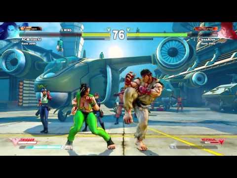 Street Fighter V - Ranked fair play