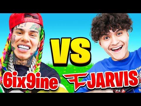 I Paid FaZe Jarvis to VS 6ix9ine (Fortnite 1v1)