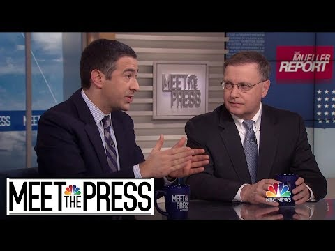 Full Rosenberg And Melber: 'Time To Acknowledge, There's No Charge-able Collusion' | Meet The Press