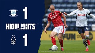Highlights: Preston 1-1 Forest (11.07.20)