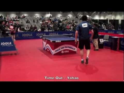 Jeff Lin Huang vs Yahao Zhang  Men's Singles Quarterfinal