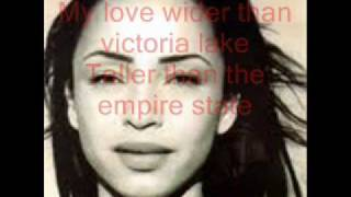 Sade - Is it a crime - Lyrics