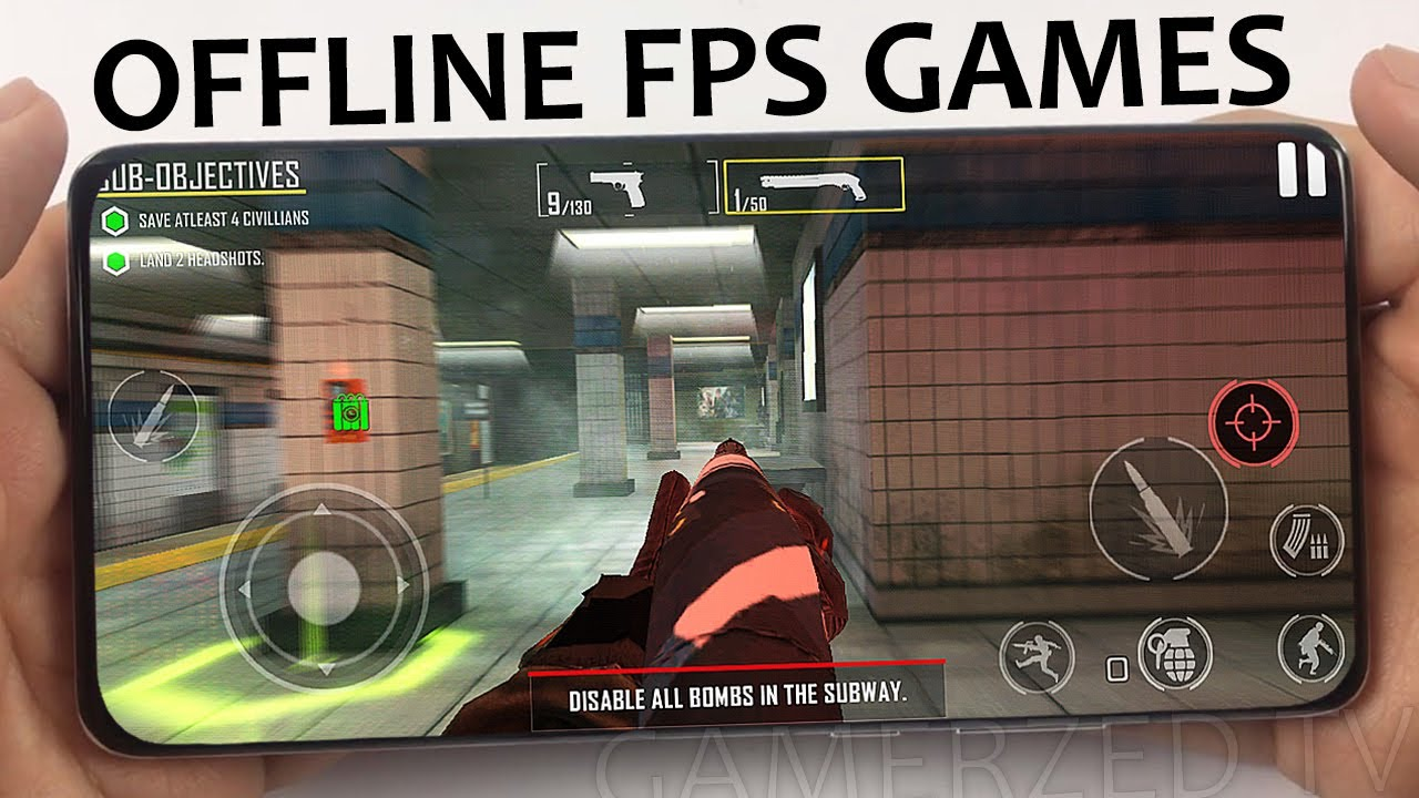TOP 10 OFFLINE FPS GAMES FOR ANDROID & IOS IN 2020/2021