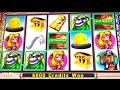 LOTS-O-BONUSES!!  BIG MONEY CHEESECAPER Slot Machine (Max Bet!)