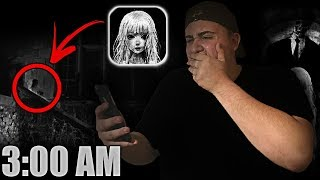 (MARIAM APPEARED) DO NOT DOWNLOAD MARIAM APP AT 3 AM | *THIS IS WHY* | I FOUND MARIAM AT 3 AM  مريم