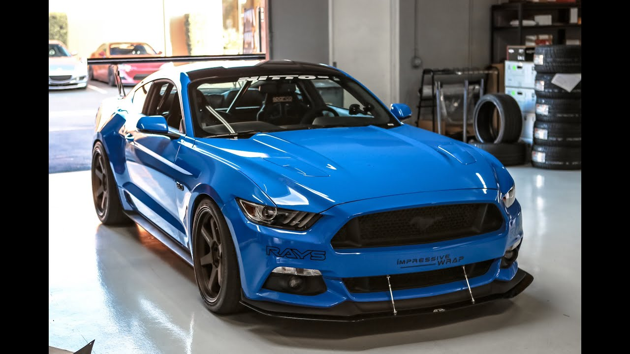 Build A Mustang >> Track Build 2015 Mustang Gt One Take Youtube