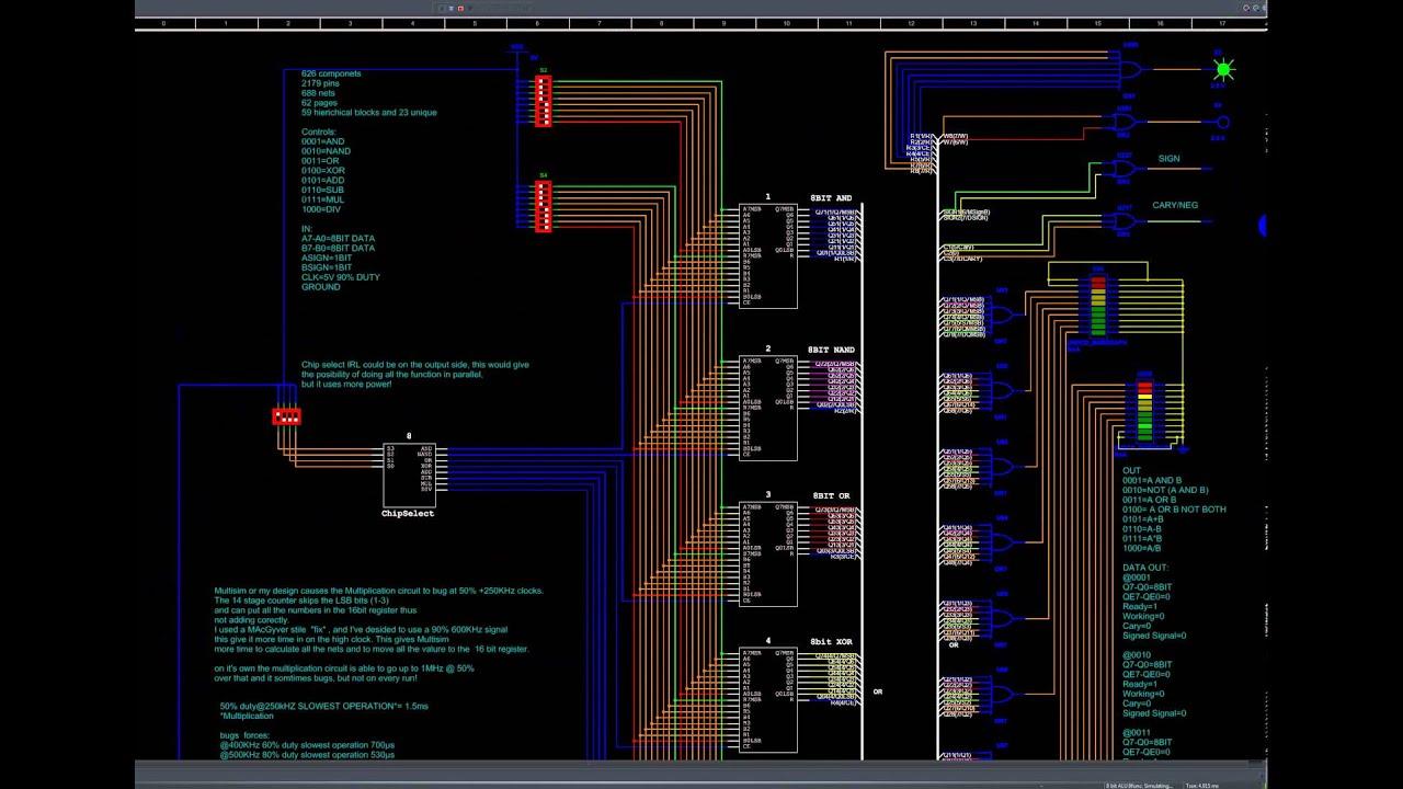 alu circuit diagram the wiring diagram circuit diagram of 8 bit alu vidim wiring diagram circuit diagram
