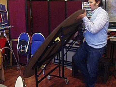 Складной массажный стол Руфина - YouTube