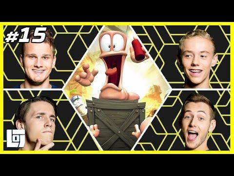 Worms W.M.D. met Jeremy, Ronald, Link en Quin | XL Battle | LOGNL #15